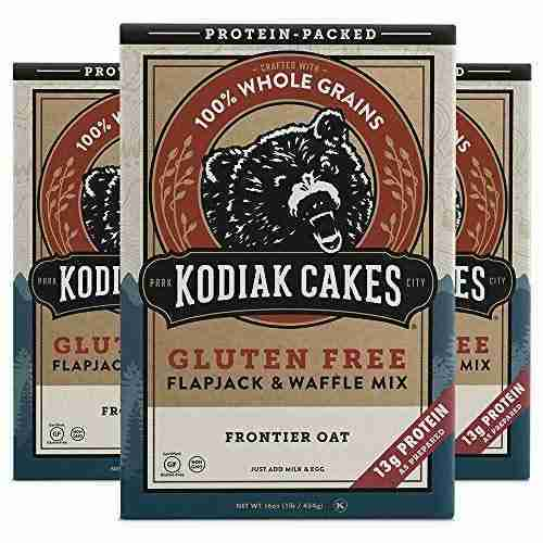 Kodiak Cakes Frontier Oat Gluten-Free Flapjack & Waffle Mix, 16 Oz (Pack Of 3) – 1 Count (Pack of 1)