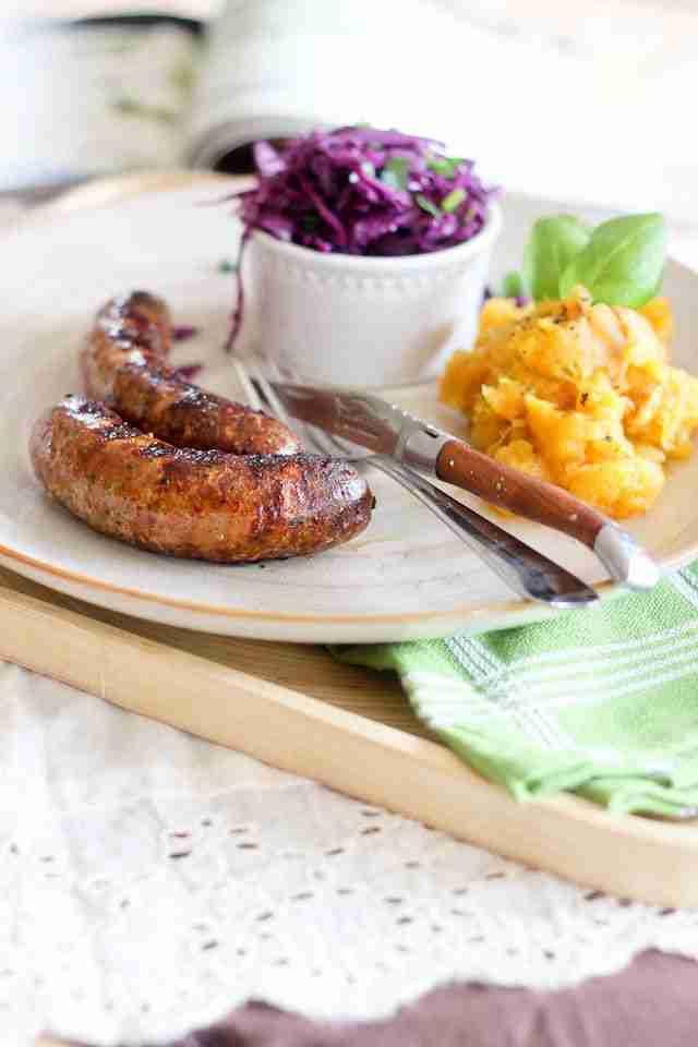 Look Ma! I Made Sausage!