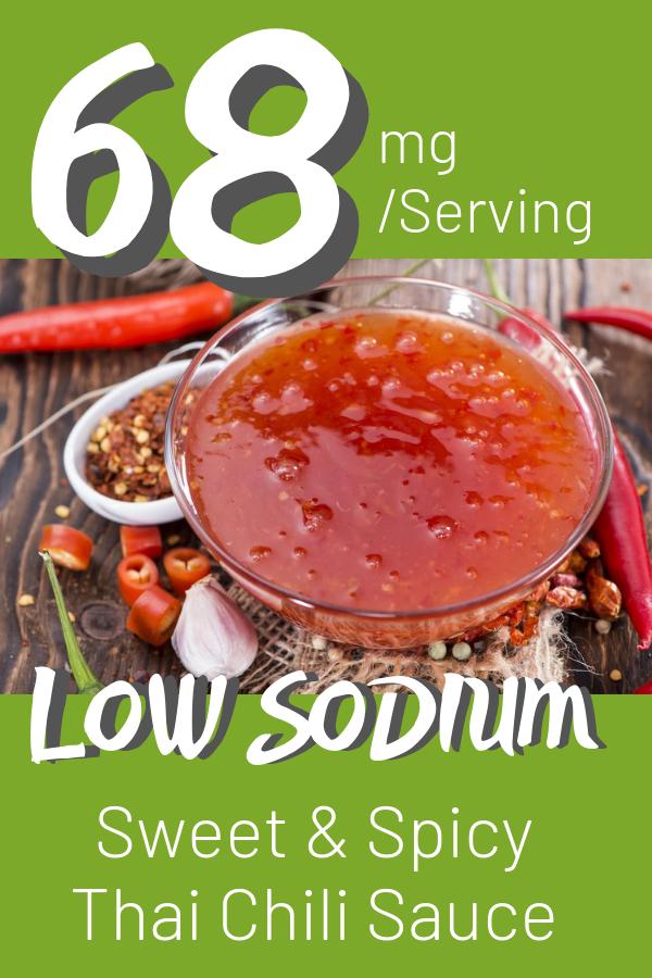 Low Sodium Thai Chili Sauce Recipe