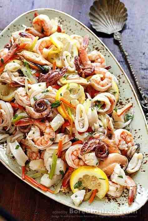 Marinated Seafood Salad