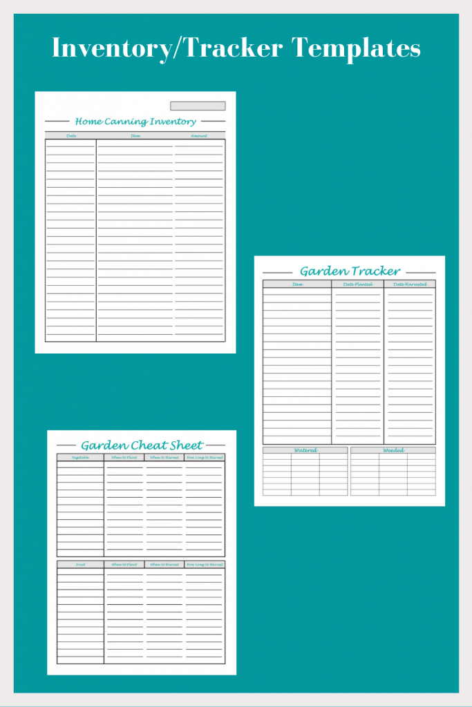 Meal Prep & Plan and Recipe Organizer Printables (for Binders)