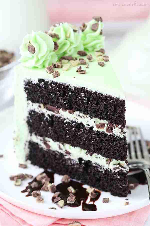 Mint Chocolate Chip Layer Cake – Mint Lover's Dream Dessert