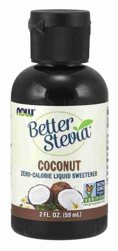 Now Sports – Better Stevia 2 oz. – Coconut