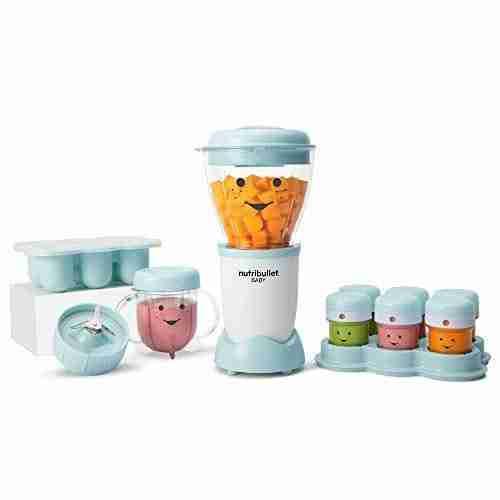 NutriBullet NBY-50100 Baby Complete Food-Making System, 32-Oz, Blue – Blue
