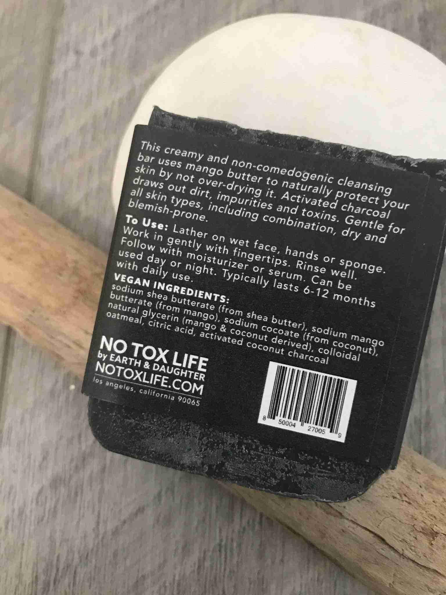 ONYX Detoxifying & Cleansing Vegan Facial Bar