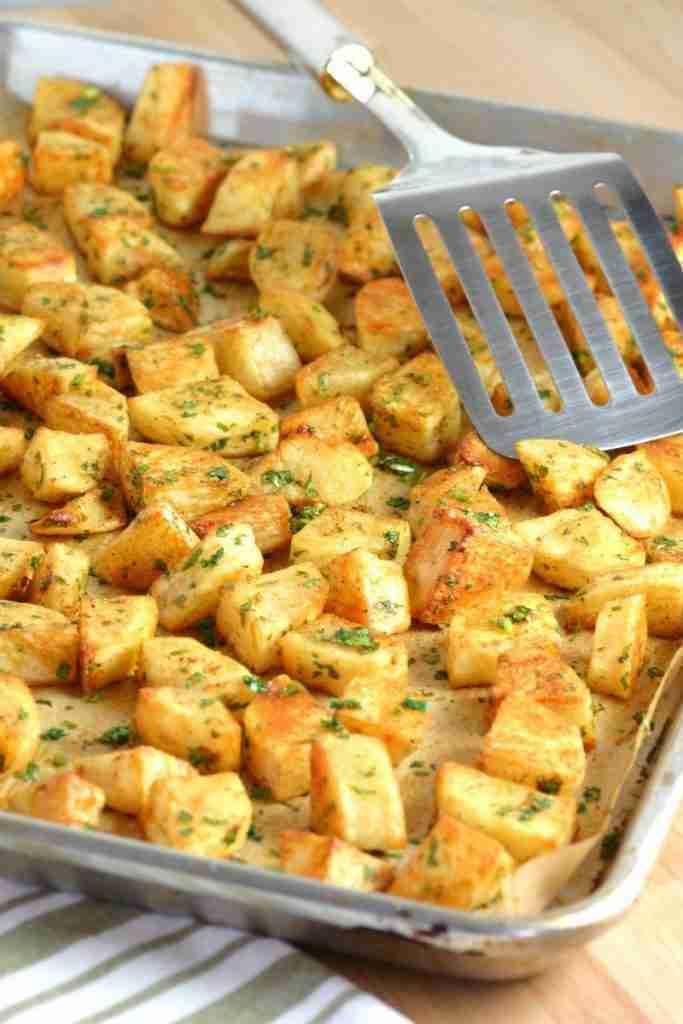 Spicy Lebanese-Style Potatoes (Batata Harra)   Lands & Flavors