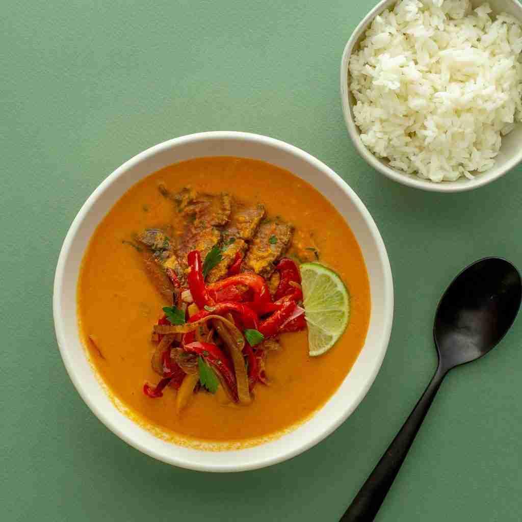 Thai Red Curry Steak