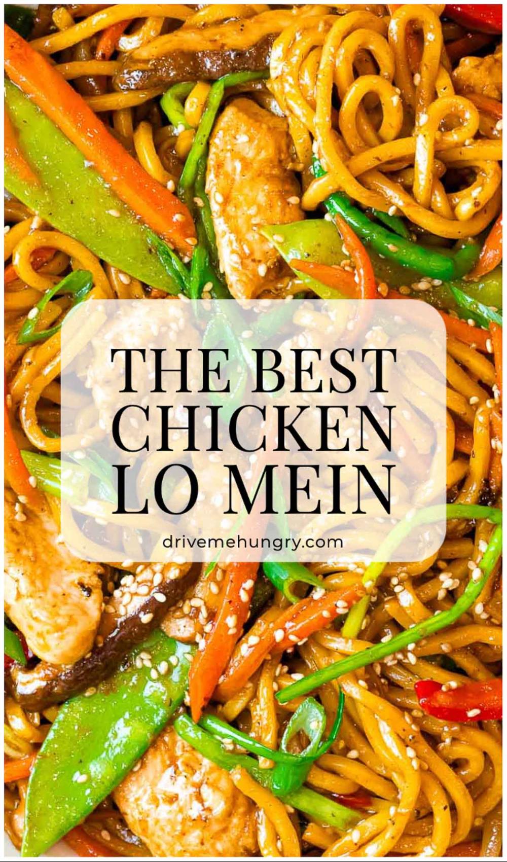 The Best Chicken Lo Mein