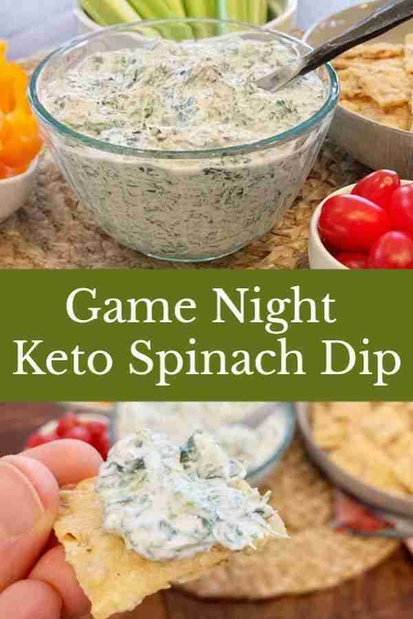 The Best Keto Spinach Dip With a Secret Ingredient!