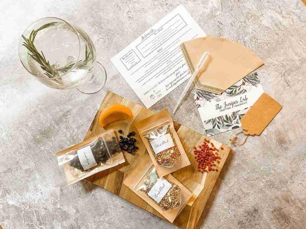 The Juniper Lab Craft Gin Making Kit – Citrus Craft Gin Making Kit