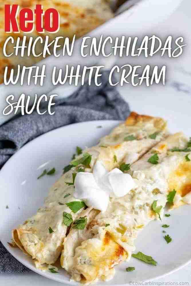 These chicken enchiladas are AMAZING!