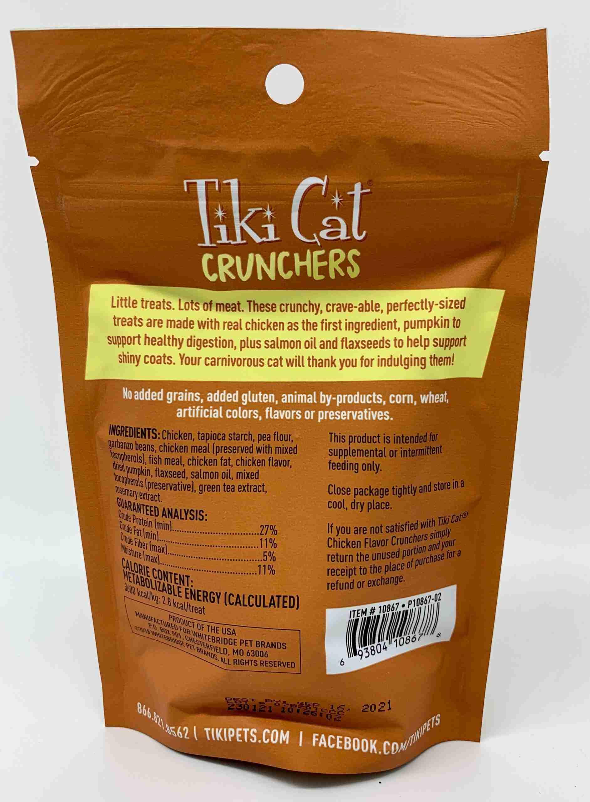 Tiki Cat Crunchers