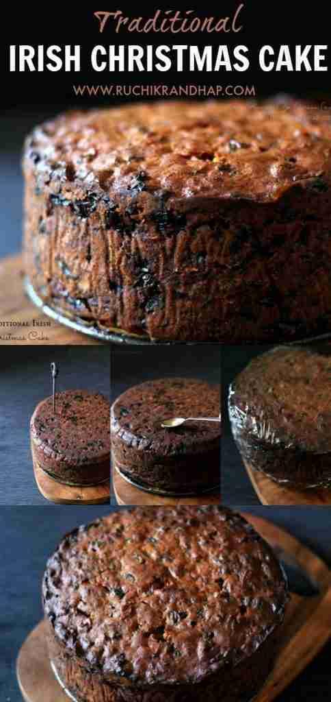Traditional Irish Christmas Cake   Ruchik Randhap