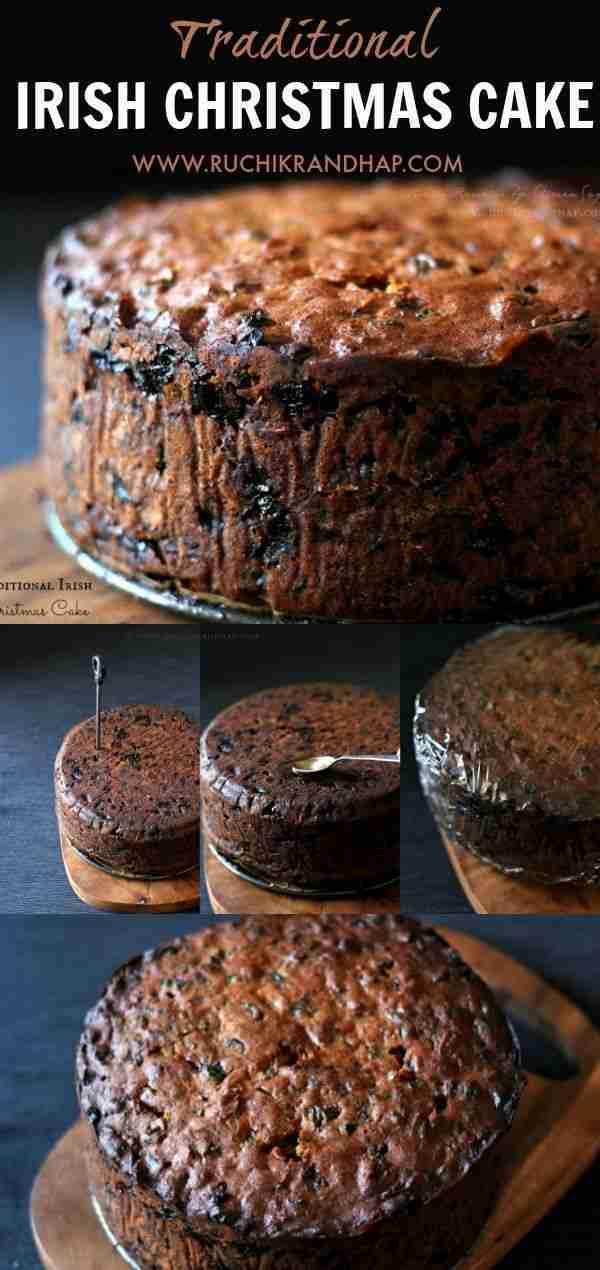 Traditional Irish Christmas Cake | Ruchik Randhap