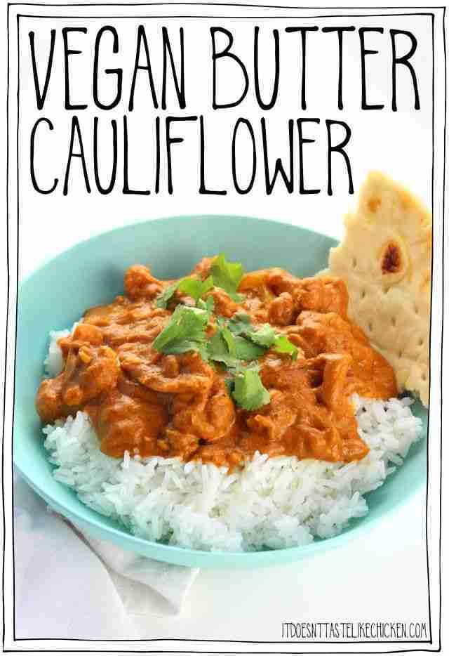 Vegan Butter Cauliflower