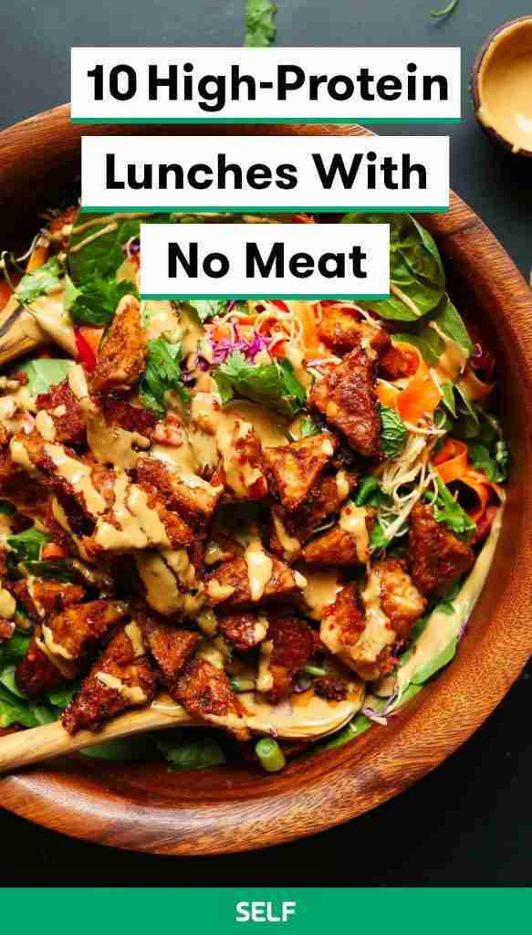 10 High-Protein Lunches With No Meat
