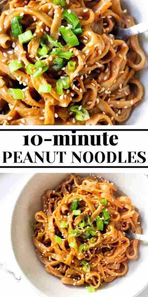 10 Minute Peanut Sauce Rice Noodles – The Twin Cooking Project by Sheenam & Muskaan