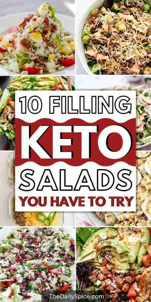 10 Tasty And Surprisingly Filling Keto Salad Recipes – The Daily Spice