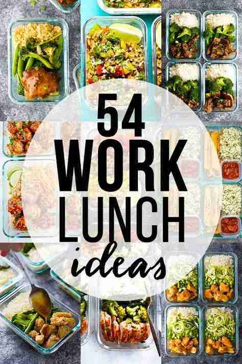 33 Healthy Lunch Ideas For Work | Sweet Peas & Saffron