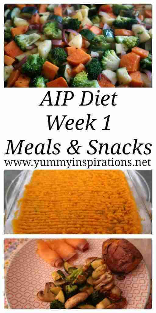 AIP Diet Plan – Week 1 – Autoimmune Protocol Diet Recipes for Beginners