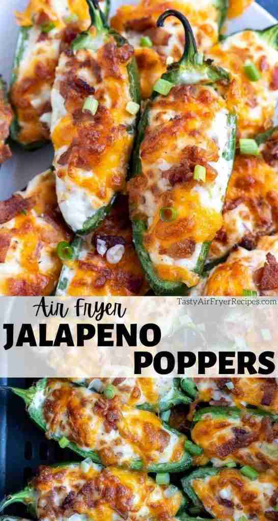 Air Fryer Jalapeno Poppers are so easy and unbelievably delicious. Air fried jal…