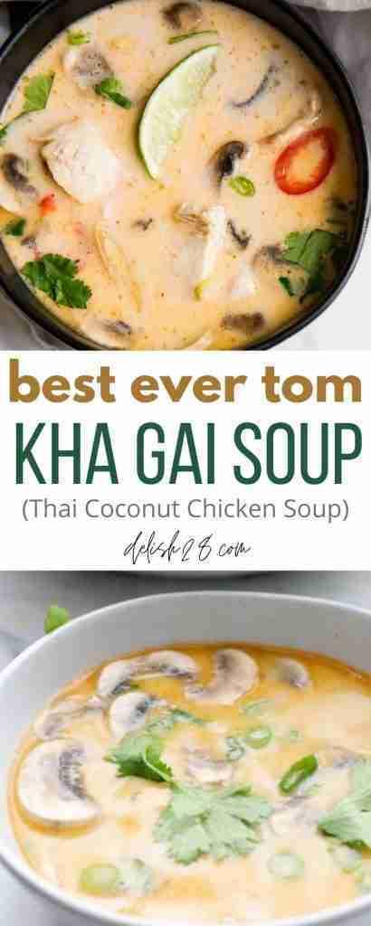 BEST EVER TOM KHA GAI SOUP ( THAI COCONUT CHICKEN SOUP ) – delish28