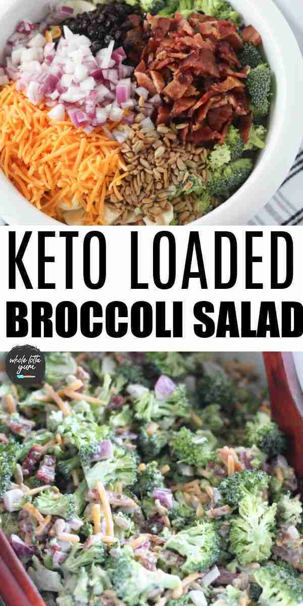 BEST Keto Broccoli Salad