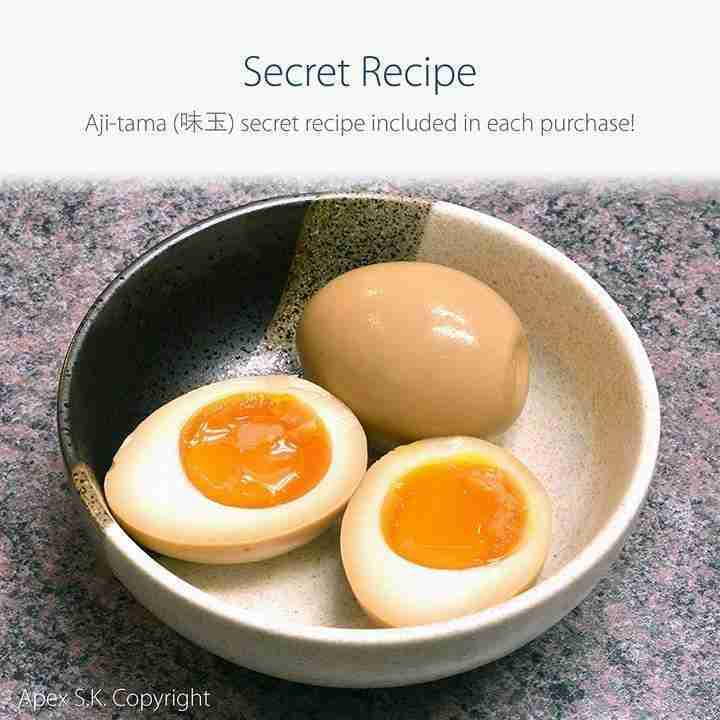 Black Melamine 9″ Japanese Ramen Bowls