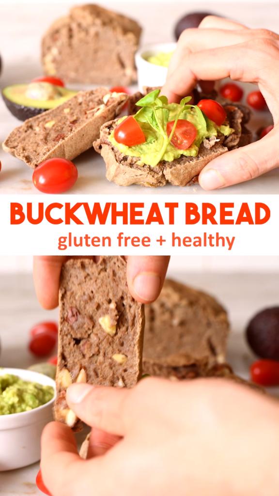 Buckwheat Almond Chia Bread Recipe – GF & High Protein
