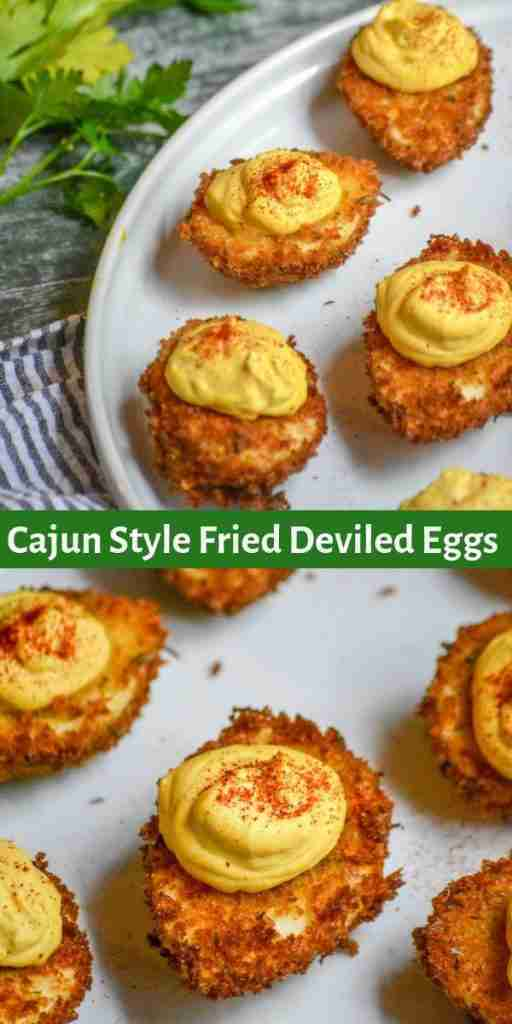 Cajun Style Fried Deviled Eggs – 4 Sons 'R' Us