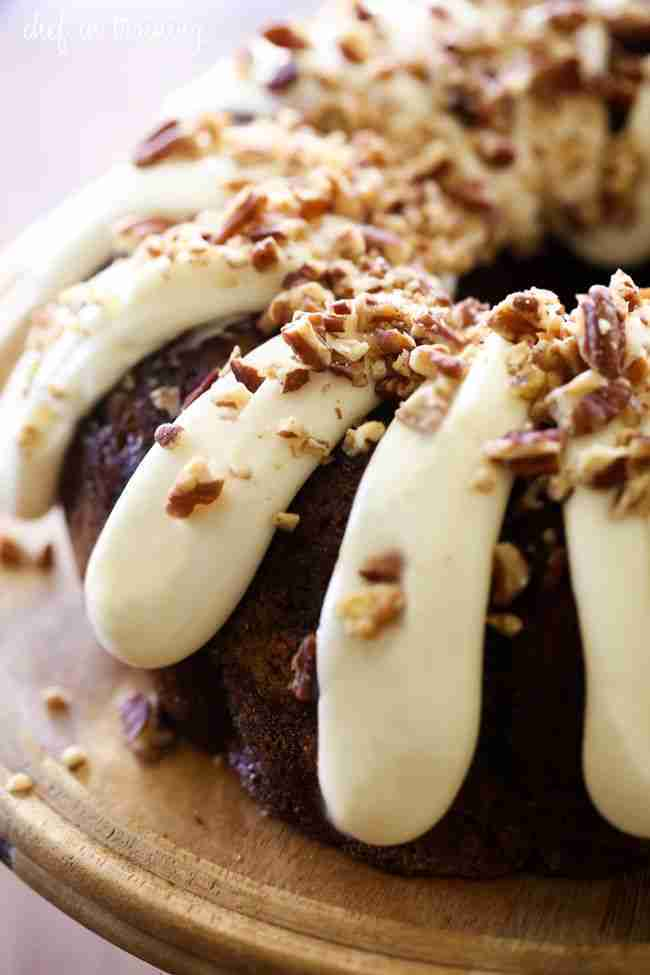Carrot Bundt Cake – Chef in Training