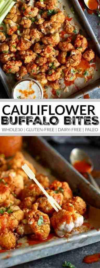Cauliflower Buffalo Bites (Whole30)