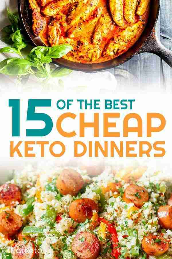 Cheap Keto Meals – Recipes for Doing Keto on a Budget – Part 1
