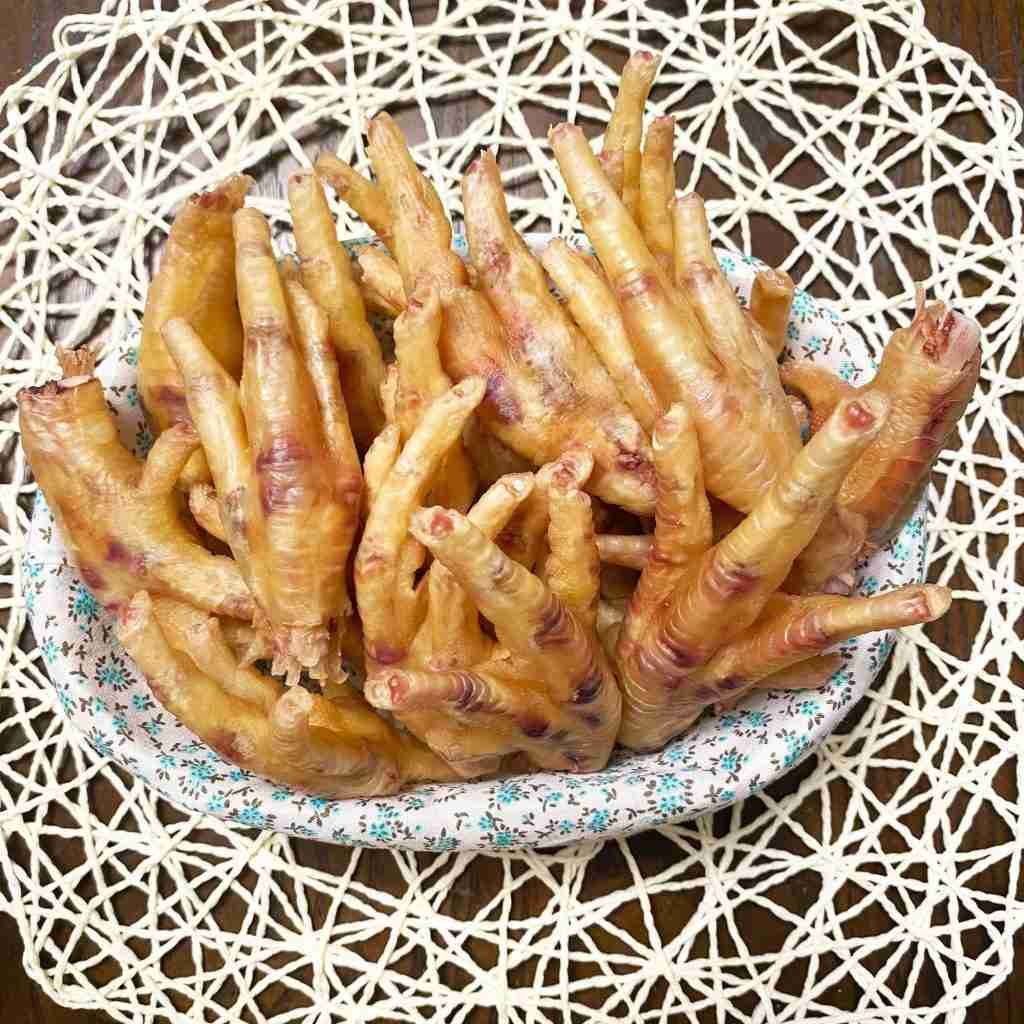 Chicken Feet (No Claws) – 8 (10-14 counts)
