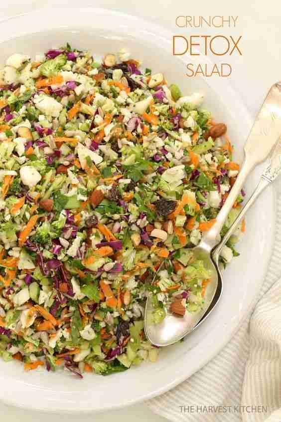 Crunchy Detox Salad