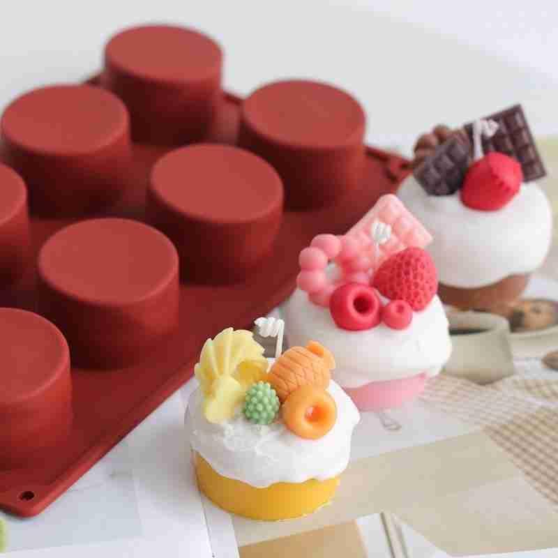 DIY Fruit Cake Silicone Baking Mold