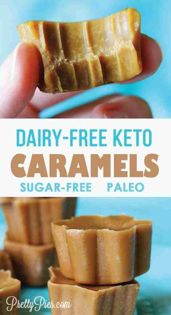 Dairy-Free Caramels {Paleo, Vegan & Keto} – Pretty Pies