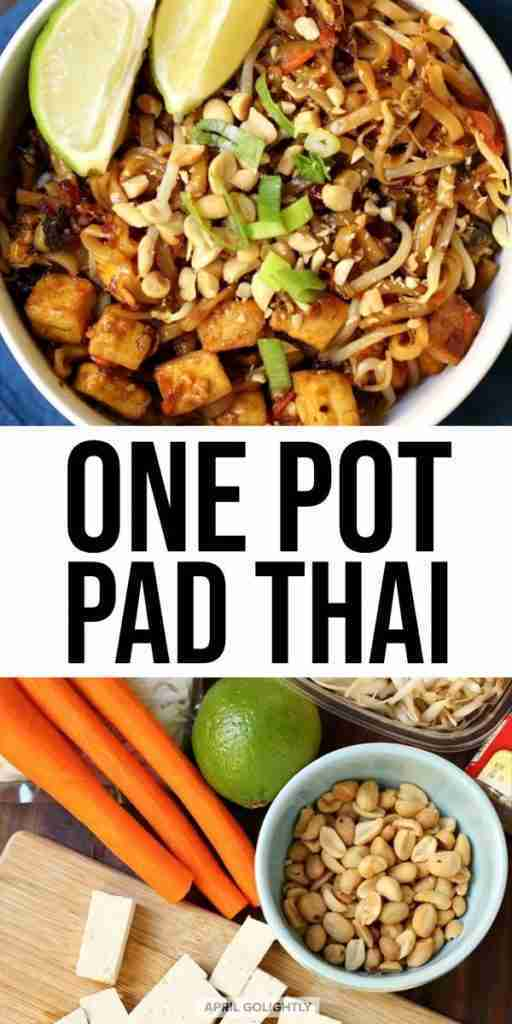 Delightful One Pot Pad Thai Noodles Recipe