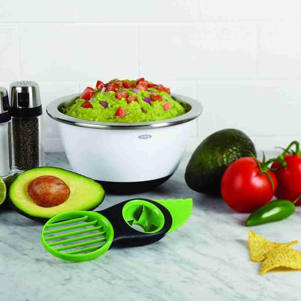Easy 3-in-1 Avocado Slicer