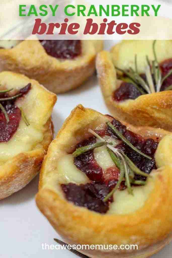 Easy Cranberry Brie Bites – The Awesome Muse