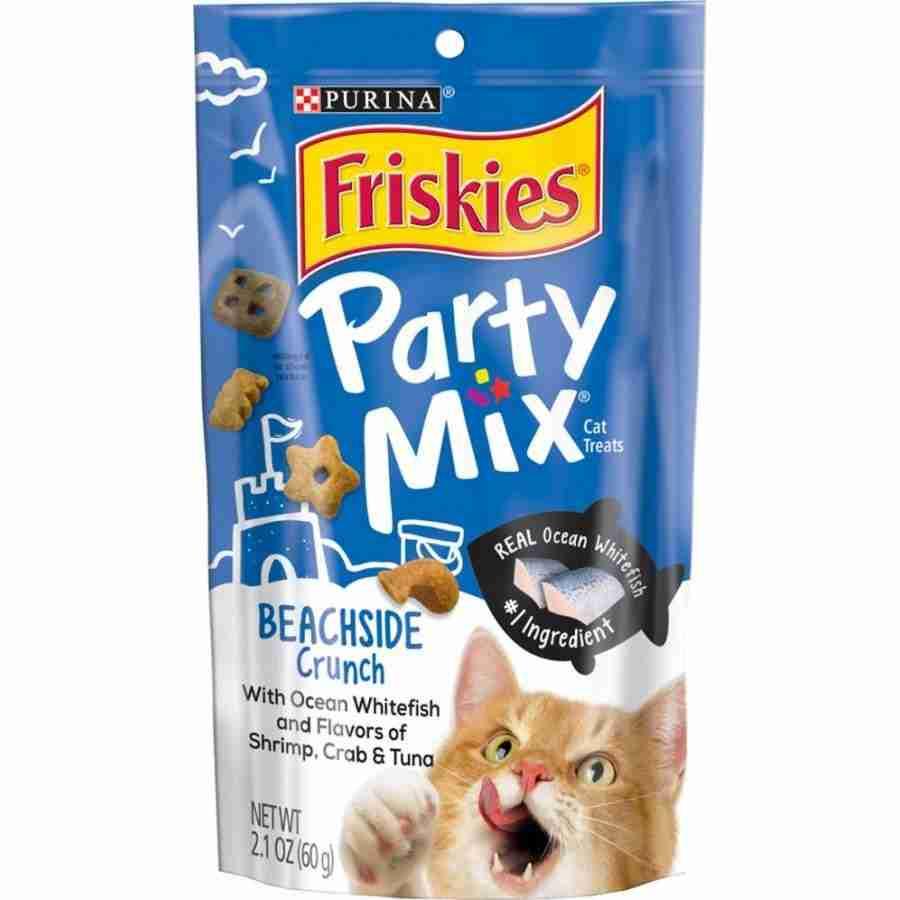 Friskies Party Mix Beachside Crunch Cat Treats 2.1 oz – 2.1 oz