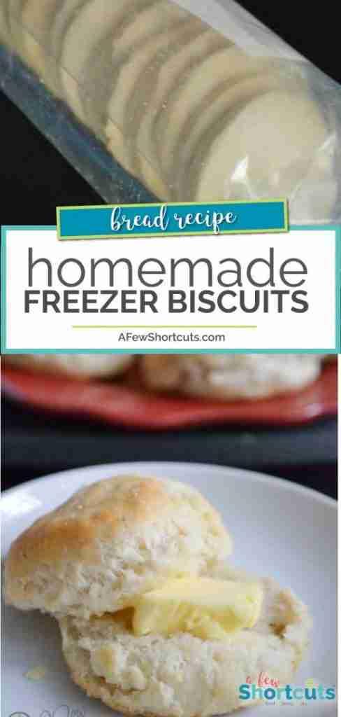 Homemade Freezer Biscuits Recipe
