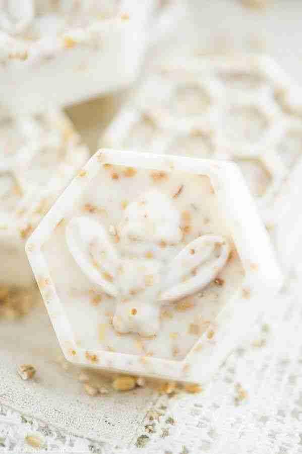 Honey Comb Vegan Bar Soaps | Sensitive Skin | Eczema – 8pc Oats Bar