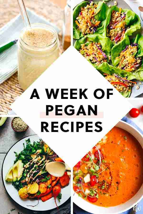 How to Eat Pegan for Every Meal This Week