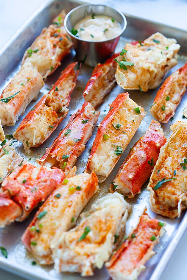 King Crab (BEST Baked Crab Legs Recipe!) – Rasa Malaysia
