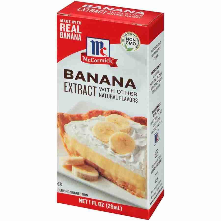 McCormick Banana, Artificially Flavored, 1 OZ