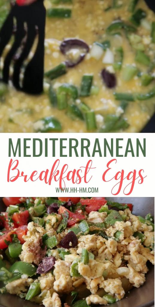 Mediterranean Breakfast Eggs