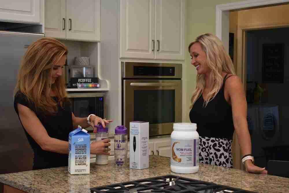 New Mom Fuel Protein Powder CARAMEL SWIRL