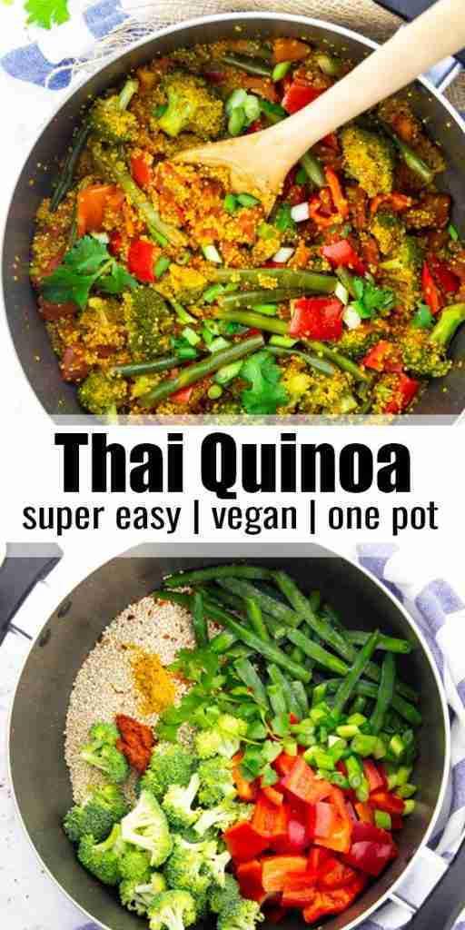 One Pot Thai Quinoa