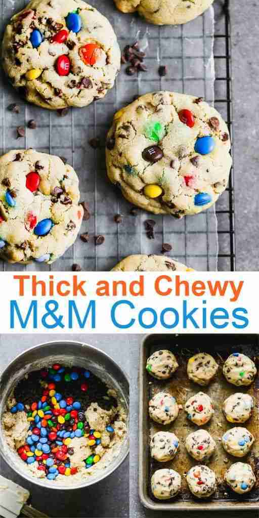 Our Favorite M&M Cookies